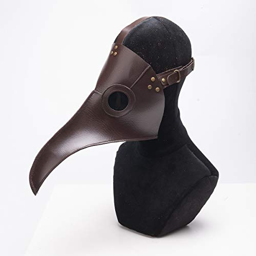 Bureze Halloween-Steampunk-Maske mit Langer Nase, Schnabel, Cosplay, Kostüm-Requisiten