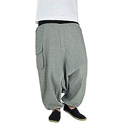 Pantalones cagados de alta calidad para hombres y mujeres como ropa hippie y pantalones bombachos de virblatt S - L– Heute