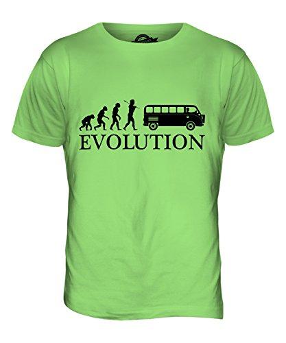CandyMix Camper Evolution Des Menschen Herren T Shirt Limettengrün
