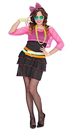Widmann 98903 - Erwachsenenkostüm 80er Jahre Groupie Girl, (80's Kostüme Girl)