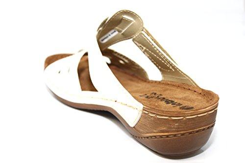 INBLU , Damen Sandalen Weiß weiß 16 EU Weiß