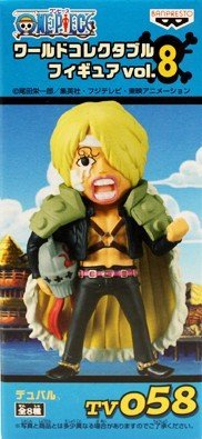 Vol.8 TV058 Duval separately ONE PIECE One Piece World Collectable Figure (japan import)
