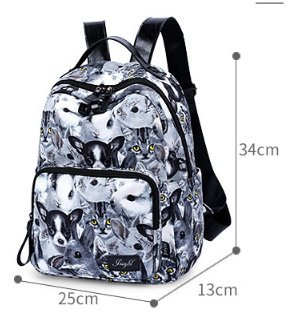 Borsa mini shoulder, borsa multiuso ,borsa per studenti-A A