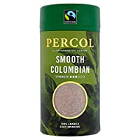 PERCOL Fairtrade Colombia Freeze Dried Instant Coffee 100g