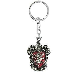 Techpro Metal Keychain Silver Colour Harrypotter Gryffindor Design