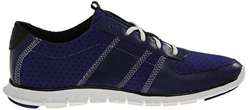Cole Haan Zerogrand Fashion Sneaker Bristol Blue Perforated Neoprene/Astral Blue/Black