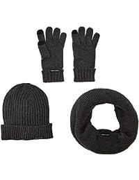 Urban Classics Winter Set Sciarpa, Guanti e Cappello Uomo