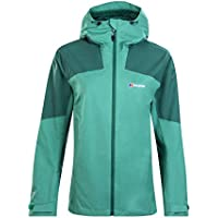 berghaus Fellmaster Chaqueta Impermeable, Mujer, Bottle Posy Green, Medium