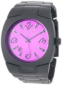 Vestal Herren-Armbanduhr Gearhead Analog Edelstahl schwarz MTR033