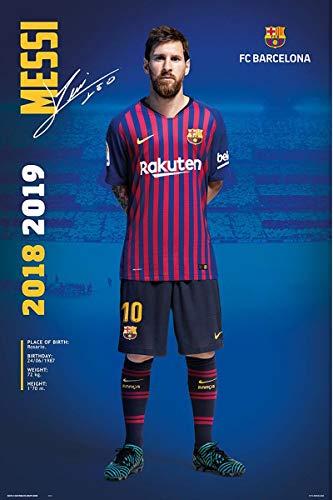 Póster FC Barcelona - Lionel Messi [Temporada 2018/2019]