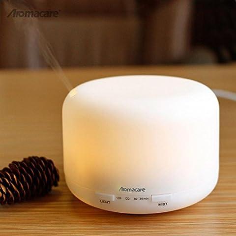 New day-Regalo Generale umidificatore a ultrasuoni commerciali mini umidificatore Aroma macchina Muto casa 16.5 * 16.5 * 13cm 0.85kg , white , 1