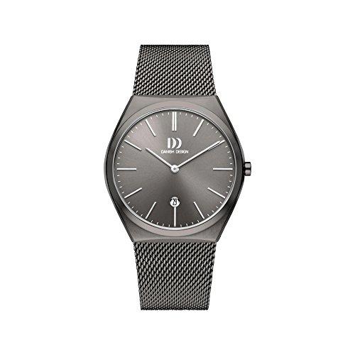 DANISH DESIGN Reloj Analógico para Hombre de Cuarzo con Correa en Acero Inoxidable IQ66Q1236
