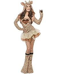 Smiffy's Adult Women's Fever Giraffe Costume