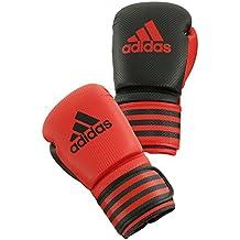 adidas Guantoni da boxe Boxing Glove Power 200 Duo, rosso/nero, 10oz, ADIPBG200D