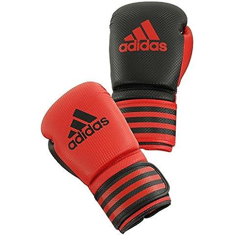 adidas Guantoni da boxe Boxing Glove Power 200 Duo, rosso/nero, 12oz, ADIPBG200D