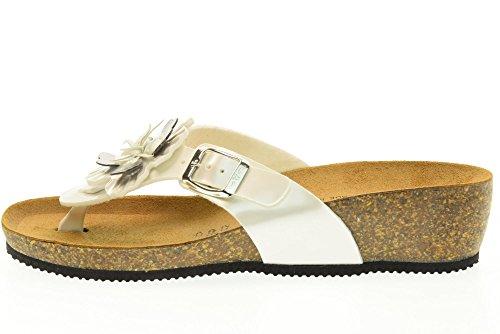 VALLEVERDE scarpe donna infradito G51213 avorio Avorio