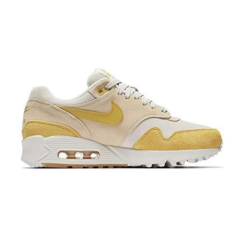 Nike Damen W Air Max 90/1 Laufschuhe, Mehrfarbig (Guava Ice/Wheat Gold/Summit White 800), 36.5 EU