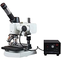 Radical 600x Compact metallurgico Metallografia microscopio w Base pesante e