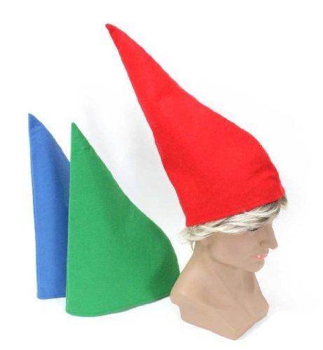 Zwergenmütze grün (1 Stück) (Zwerg Kostüm Für Jungen)