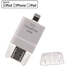 Nuovo i Flash Drive Lettore Per Schede OTG USB iPhone Memoria Espansione Memoria HD per iPhone 5s/iPhone 6/iPhone 6s/iPhone6 Plus/iPhone6s Plus/iPad Facile Salvare Foto/Video