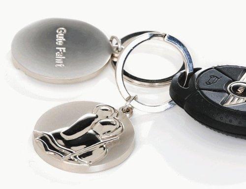 Casablanca Schlüsselanhänger Christopherus 7 cm 40736 -