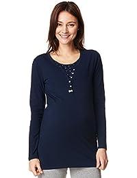 Noppies Schlafanzug 2Set Maria / 2 in 1 Umstandsschlafanzug Sleep Shirt + Hose Pyjama Nachtwäsche 66608 & 66600