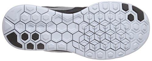 Nike Free 5.0 Flash Damen Laufschuhe Schwarz (Black/Reflect Silver-Cool Grey-Pure Platinum 001)