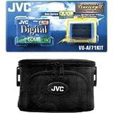 JVC Starter kit double durée VUAF71KIT Sacoche CBA79 + 1 cassette MDV60DE + 1 batterie Pour caméscopes JVC séries D300/D600