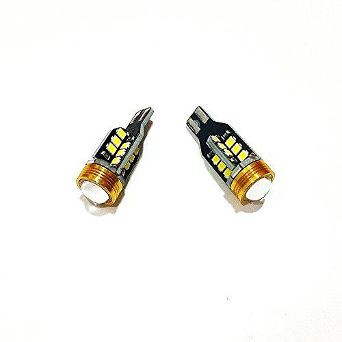 July King 2Pcs T15 6W 6000K LED inverser les lumières pour T15 Port Car, T15-Reverse-24SMD Pour Regal GS Verano GT XT New LaCrosse etc