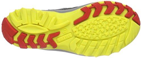 Salewa Kinder Wildfire Waterproof Halbschuh, Chaussures de Trekking et Randonnée Mixte Enfant Noir (Carbon/flame 0794)