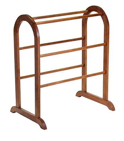 Winsome Wood Quilt Rack, Walnut by Winsome Wood