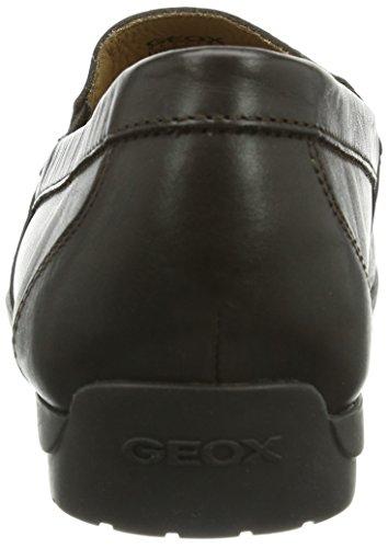 Geox U Simon A, Mocassins Homme Braun (BROWNC6000)