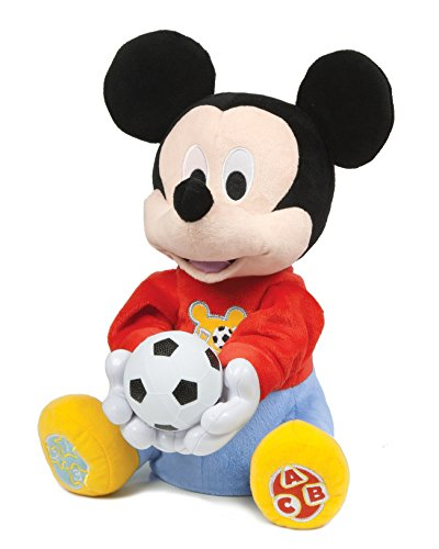 Clementoni Mouse Mickey Baby electrónico tira-juega33x27, Multicolor, 33.3 x 27.2 x 20.8 (65158)