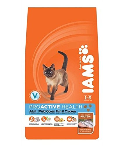 Iams Cat Food ProActive Health Adult With Wild Ocean Fish & Chicken 3 kg(pack of 3) 1