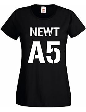 Settantallora T-Shirt Maglietta Donna J2657 Newt A5 The Runner