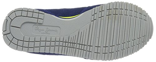Pepe Jeans Jungen Sydney Color Low-Top Blau (Electric BLU)