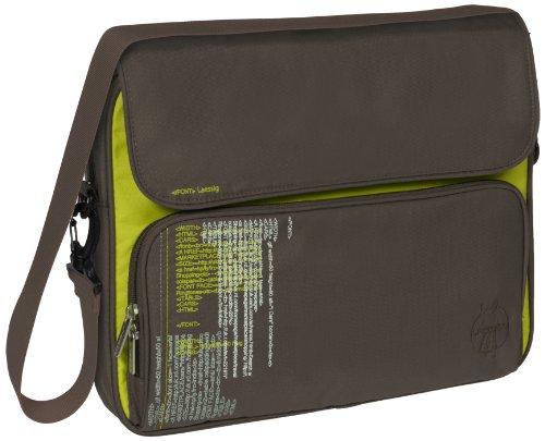 Lässig LTHOLMB13260 Notebooktasche, College,13-15 Zoll - Text slate