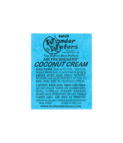 Preisvergleich Produktbild Wonder Wafer 25CT einzeln verpackt Coconut Creme Lufterfrischer von Wonder Wafer