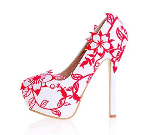 GZDWomenS-Court-Shoes-Pumps-Stiletto-High-HeelPartyClub-Bridal-Wedding-Shoes