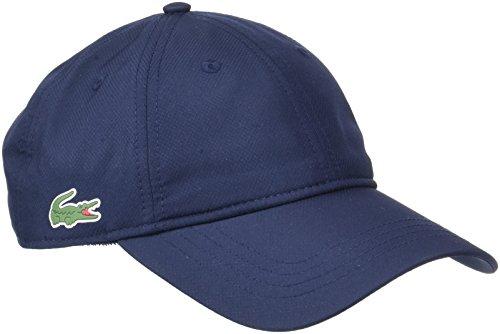 Lacoste Sport Herren Rk2447 Baseball Cap, Blau (Marine), One Size (Herstellergröße: TU)
