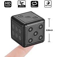 KOBWA Caméra de Sport, 1080P HD Caméra Cachée Espion avec Vision Nocturne et Détection de Mouvement pour Caméra de Surveillance de Sécurité Intérieure/Extérieure