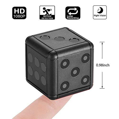 KOBWA Mini Kamera, SQ 16 Sportkamera HD 1080P Camcorder Micro Camera DVR Video Recorder mit Nachtsicht und Bewegungserkennung für Zuhause/Büro Indoor/Sicherheit im Freien