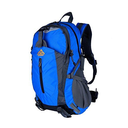 Imagen de naturefun 40l  ligera daypack resistente al agua bolsa de trekking para camping, senderismo, escalada azul