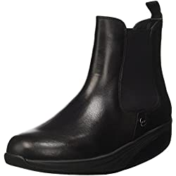 MBT Asha, Zapatillas de Gimnasia Mujer, Negro (Nero), 38 EU