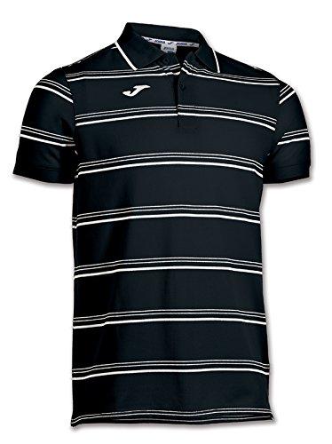 Joma Naval - Polo da uomo, colore nero  Taglia L