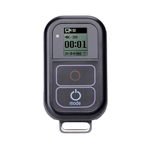 1. Modo de emparejamiento con GoPro Hero 6y Hero 5:Reloj RE:CRON,Es muy fácil de usar en realidad.-Compra un mando a distancia para tu cámara GoPro favorita.Es muy cómodo y práctico.Cómo emparejar con GoPro:Encuentra el número de modelo de tu GoPro....