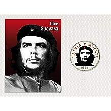 IMPACTO COLECCIONABLES Moneda de Cuba. 3 Pesos Che Guevara Coloreados 6d7ef30c395