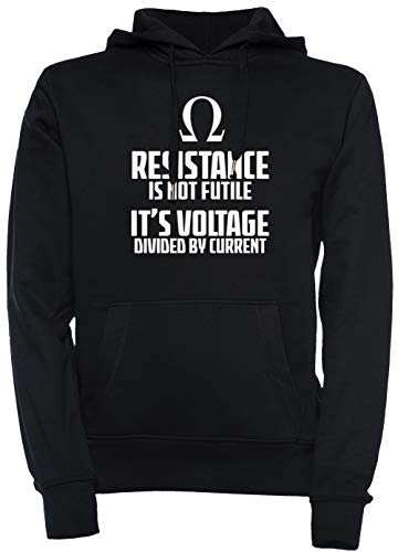 Erido Pull À Funny Capuche M Black Sweat Physics Shirt Electrician Hoodie Unisexe Noir Homme Over Taille Femme Men's Medium Women's T EWDHI29