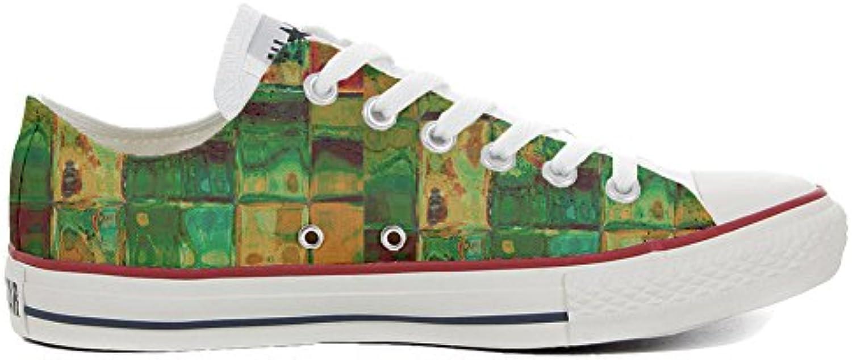 Make Your Shoes Converse All Star Slim Personalisierte Schuhe (Handwerk Produkt) Design Texture