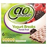 Go Ahead Yogurt Breaks Forest Fruits 6 Pack 216G